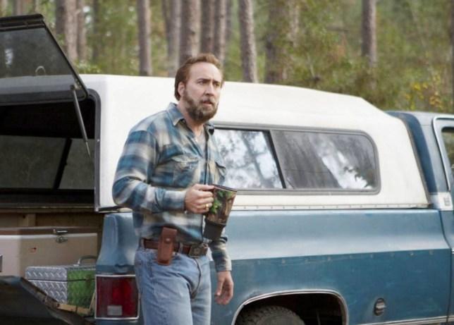 Nicolas Cage in Joe