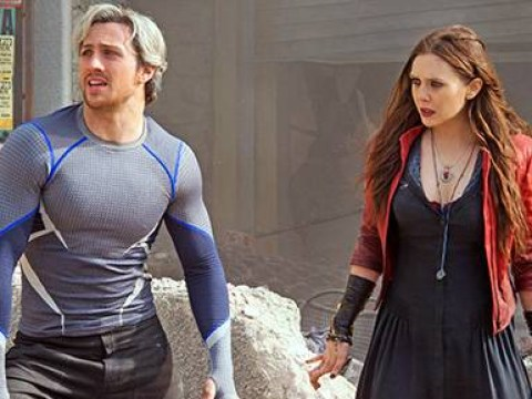EXCLUSIVE: Elizabeth Olsen on working with Aaron Taylor-Johnson in Age of Ultron