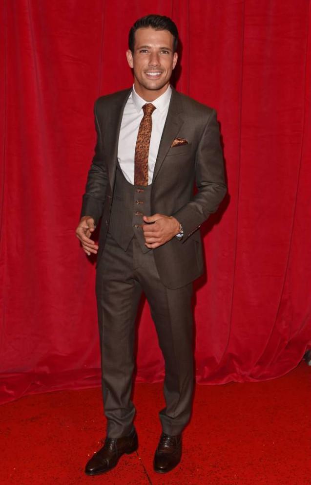 Mandatory Credit: Photo by David Fisher/REX (3774222j)  Danny Mac  British Soap Awards 2014, Hackney Empire, London. 24th May 2014