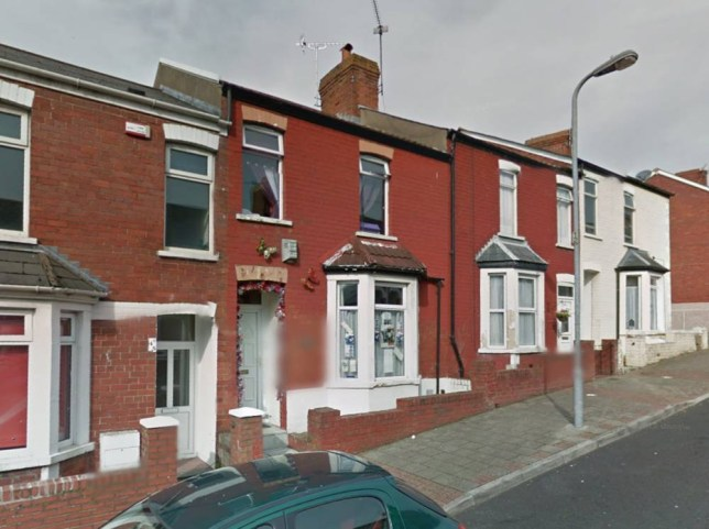 The two-bedroom house from Gavin and Stacey in Trinity Road, Barry, is up for grabs, people (Picture: Google)