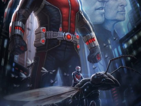 Marvel reveals first look of Ant-Man at San Diego Comic Con