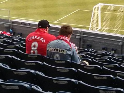 Liverpool fan really badly coverts Fernando Torres top into 'new' Rickie Lambert shirt