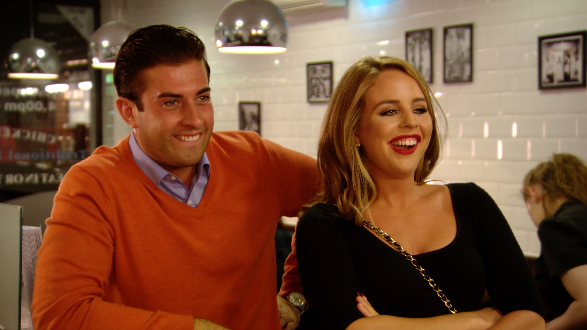 Arg and Lydia TOWIE 2014 (Picture: ITV2)