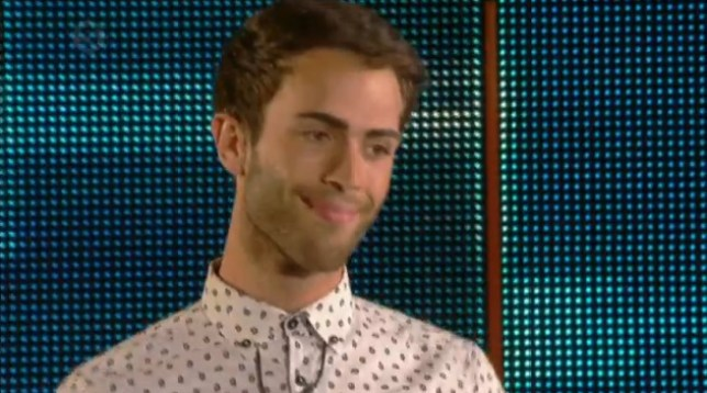 Matthew's time in the house has come to an end (Picture: Channel 5)