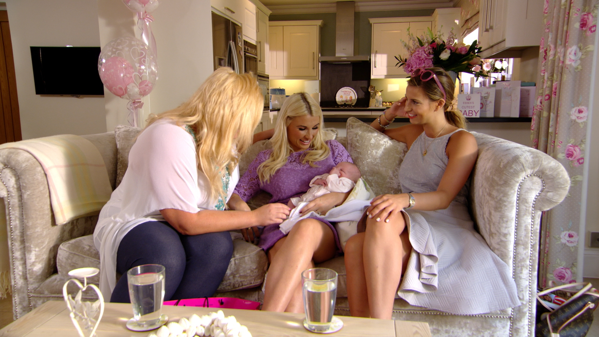 TOWIE mum Billie Faiers says fiancé Greg Shepherd is yet to change Nelly's nappy