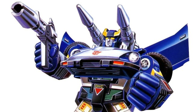 Well, it was the first thing that came to our mind when we heard the name Bluestreak...
