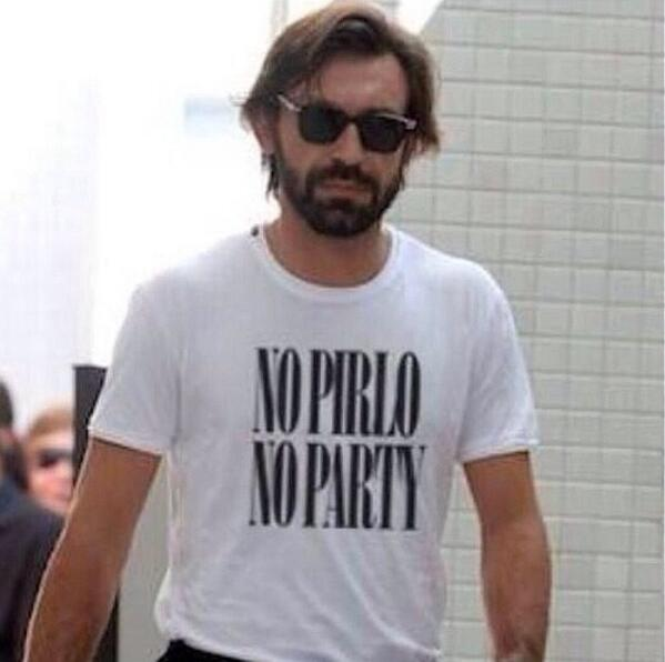 Andrea Pirlo proves himself as coolest person ever with brilliant World Cup t-shirt