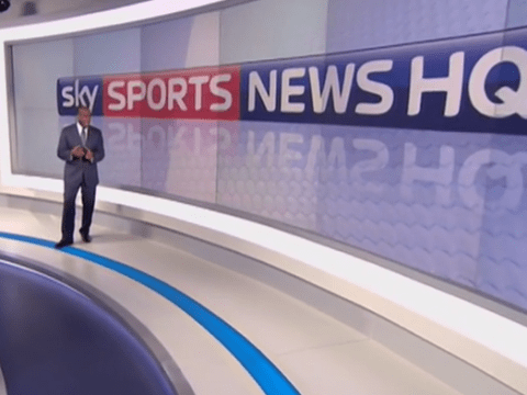 Check out video of new Sky Sports News studio as long-running channel prepares to change name