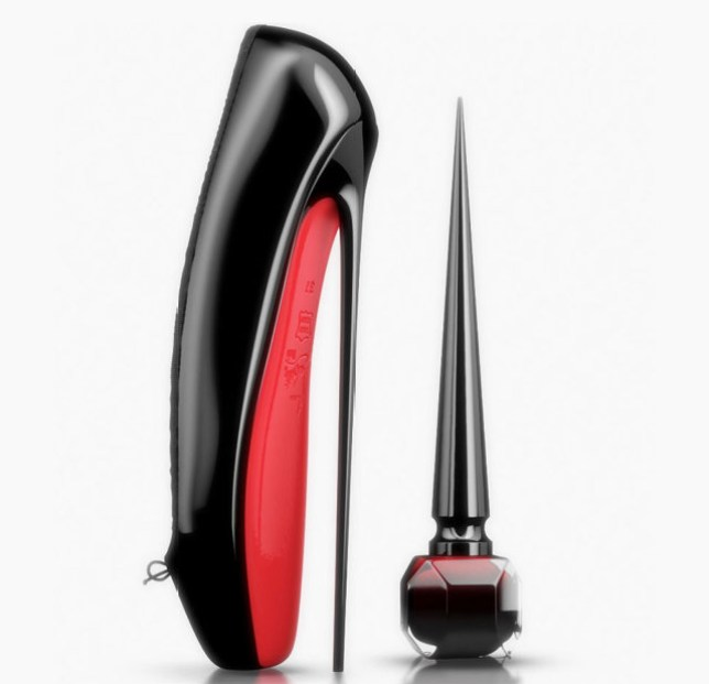 0643550a24a Christian Louboutin launches luxury nail varnish collection at ...