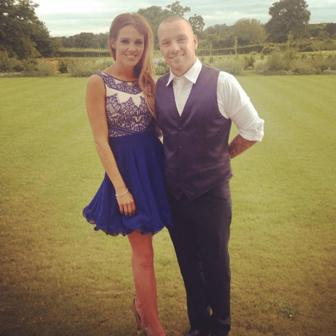 Danielle Lloyd reportedly walks out on husband Jamie O'Hara after alleged affair