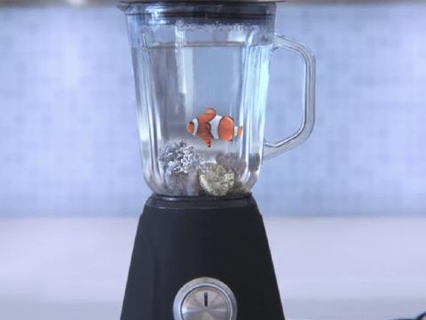 Nemo in blender for hard-hitting Greenpeace advert