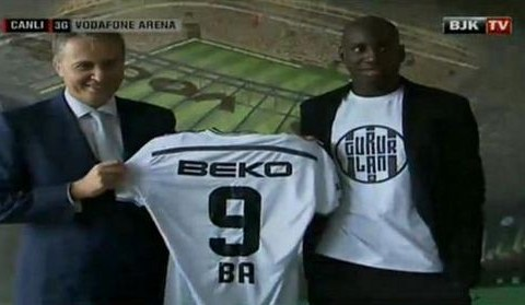 Demba Ba ends Chelsea nightmare after being pictured in Besiktas shirt