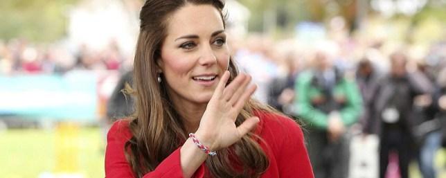 Duchess of Cambridge wearing a loom band