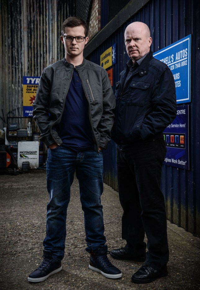 embargoed until 00 01 Friday 18th July - Ben Mitchell and Phil Mitchell (1) (3)