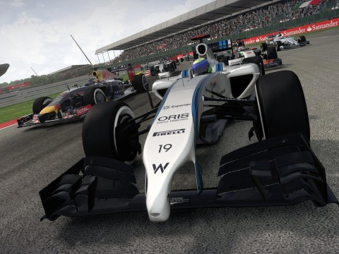 F1 2014 is last gen until 2015 says Codemasters