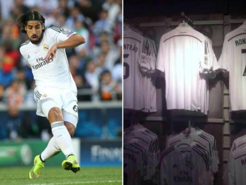 Does this picture prove Sami Khedira is set to sign for Arsenal or Chelsea?