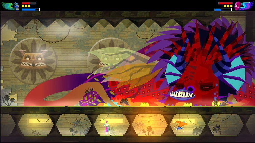 Guacamelee! Super Turbo Championship Edition (XO) - attractive bossesGuacamelee! Super Turbo Championship Edition (XO) - attractive bosses