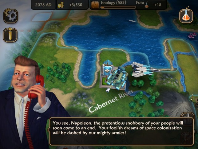 Sid Meier's Civilization Revolution 2 (iOS) - everybody wants to rule the world