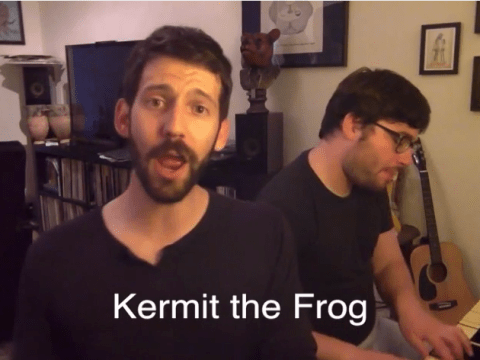 Man perfectly nails 29 impressions from Kermit the Frog to Christina Aguilera through the medium of song