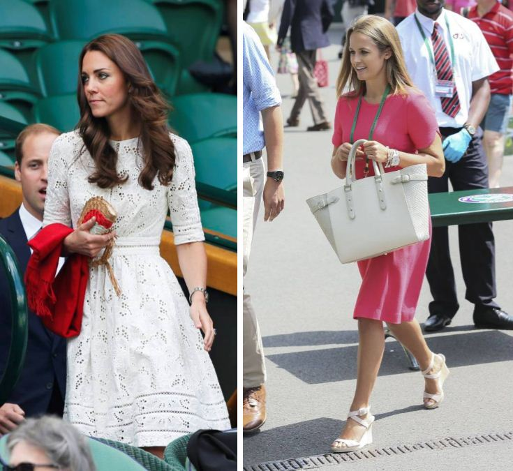 OMG: It's a Kate Middleton vs. Kim Sears fash-off at Wimbledon 2014