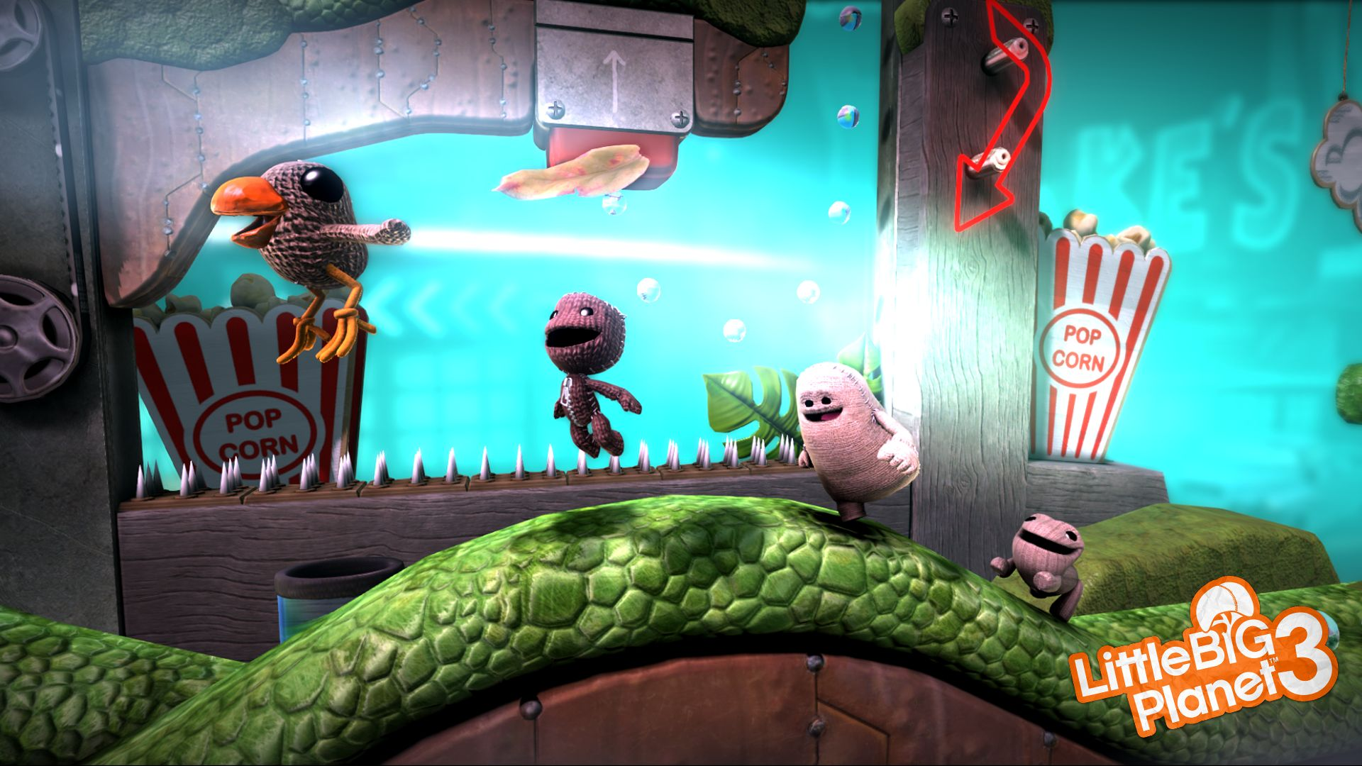 LittleBigPlanet 3 - what kind of game will you make it?