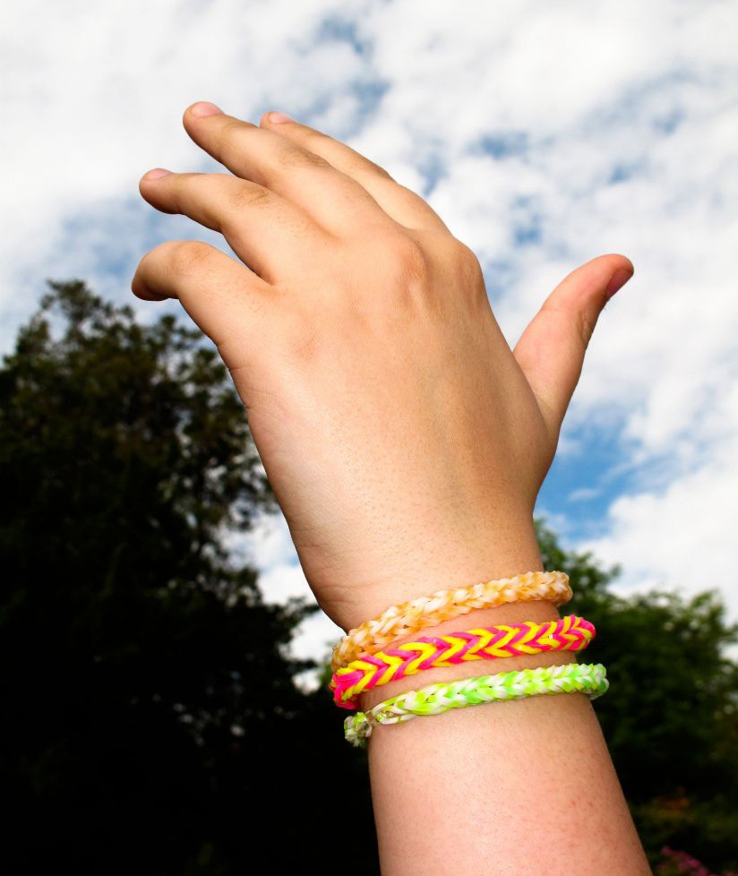 Loom bands become top end-of-term present for teachers, teachers admit they'd actually prefer wine