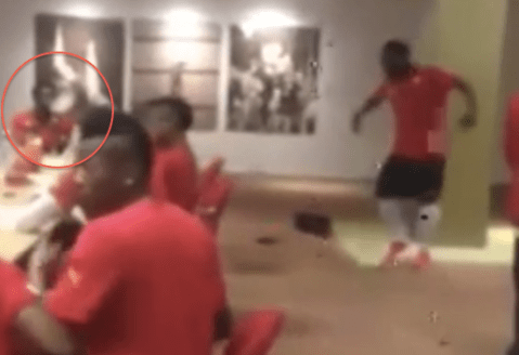 That's why he was kicked out! 'Ganja Man' Sulley Muntari caught smoking during Ghana team meeting