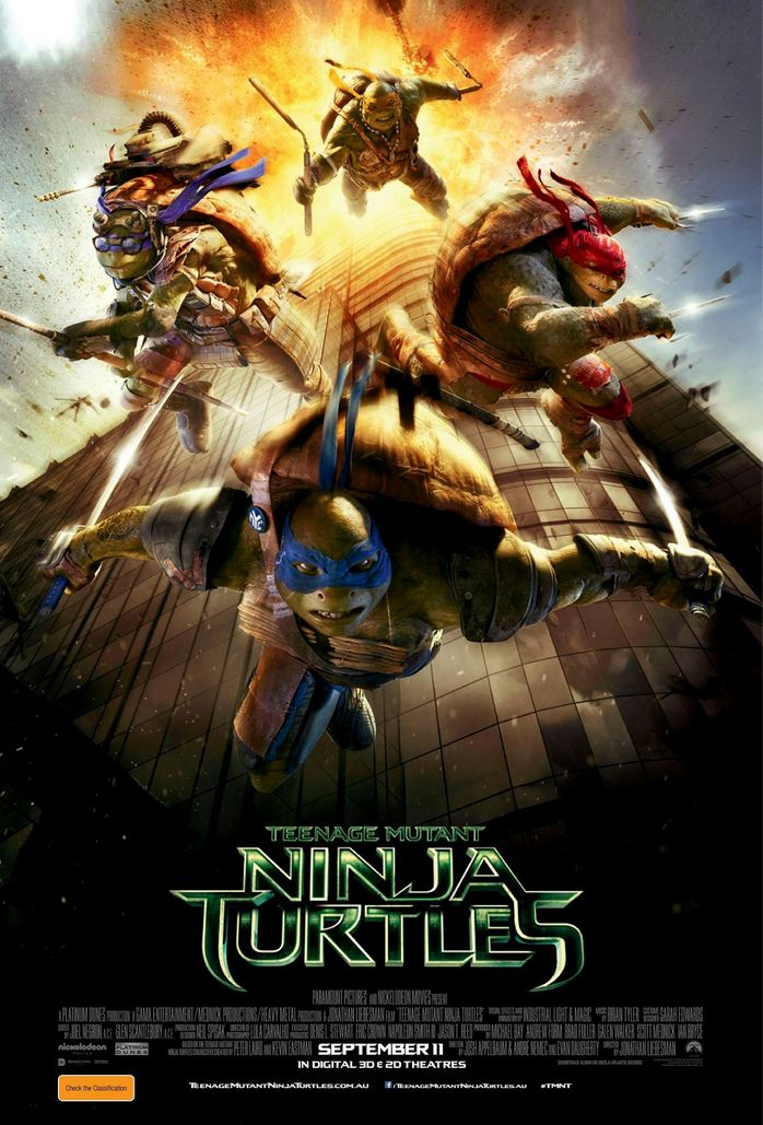 Paramount Pictures apologise for Teenage Mutant Ninja Turtles 'skyscraper' poster
