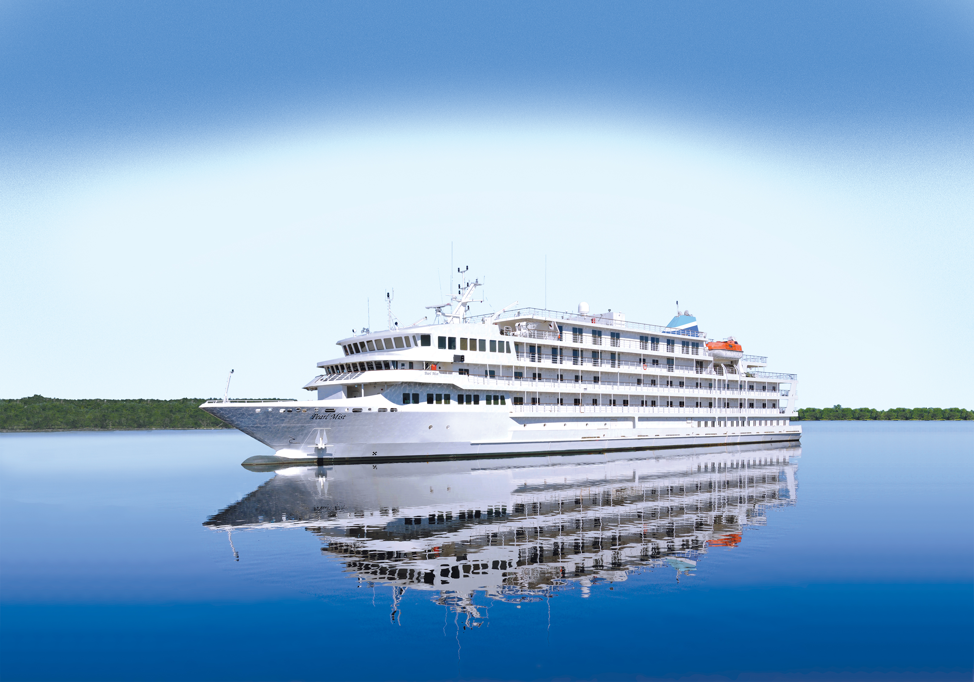 Small but perfectly formed: The Pearl Mist (Picture: Pearl Seas Cruises)