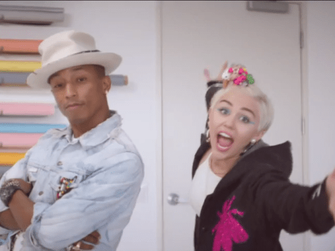 Hold up – our new summer anthem has landed courtesy of Pharrell Williams and Miley Cyrus
