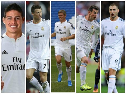 James Rodriguez completes £63 million Real Madrid transfer – is this now the best attack the world has ever seen?
