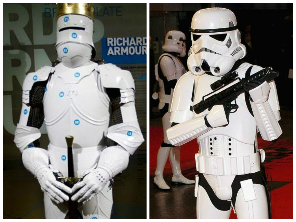 (British) Empire Strikes Back: Richard III's armour looks very familiar