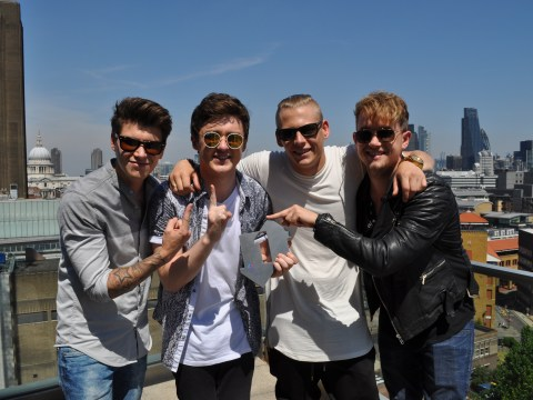 Rixton to celebrate debut number one single with matching tattoos – just don't tell their parents
