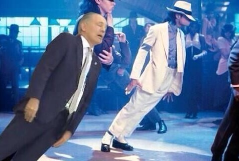 Alejandro Sabella in Smooth Criminal (Picture: Twitter)