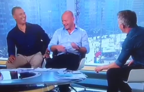 Zing! Watch Ruud Gullit remind Alan Shearer who is boss with brilliant jibe
