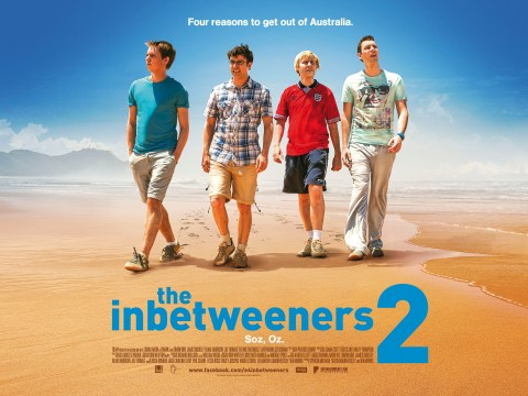 The first poster for The Inbetweeners 2 gives you four reasons to get out of Australia