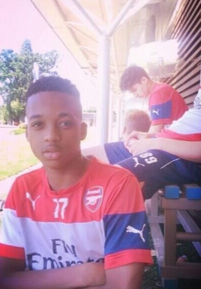 Chris Willock made his senior debut on Saturday (Picture: Twitter/@chrissywillock7)