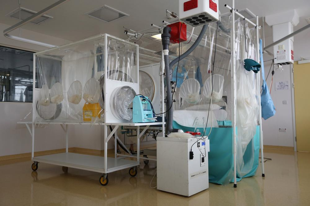 A High Level Isolation Unit at the Royal Free hospital. (Picture: Dan Kitwood/Getty Images)