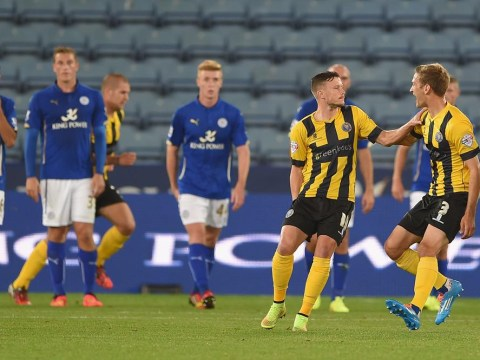 Why Leicester City should not worry about going out the Capital One Cup