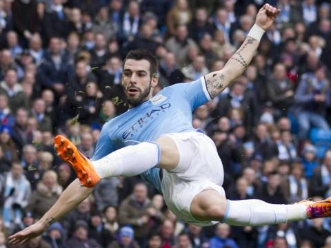 Alvaro Negredo won't leave Manchester City for Real Madrid, insists Manuel Pellegrini