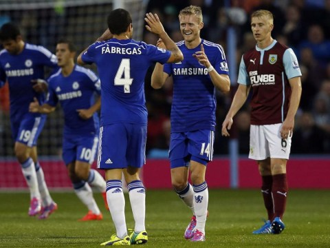 Cesc Fabregas steals the show as Chelsea fire Premier League warning