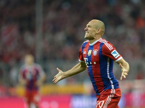 Arjen Robben hits the ground running for Bayern Munich with superb counter-attack goal against Wolfsburg