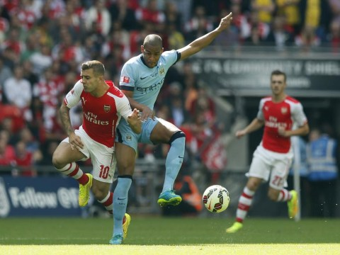 Manchester City's Fernando caps off nightmare Community Shield with comical slip