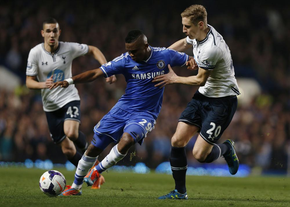 Samuel Eto'o holds transfer talks with Tottenham Hotspur