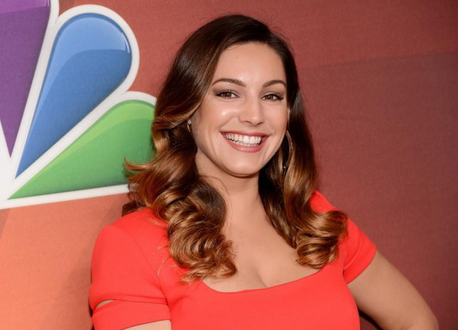Actress Kelly Brook attends the NBC Network 2014 Upfront presentation at the Javits Center on Monday, May 12, 2014, in New York. (Photo by Evan Agostini/Invision/AP) Evan Agostini/Invision/AP