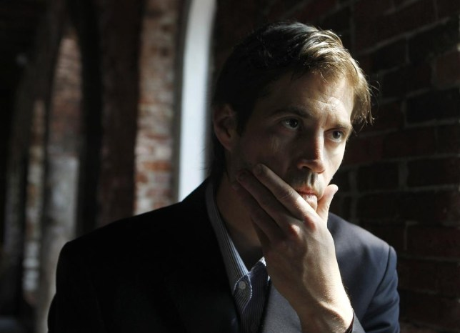 James Foley at a conference about his work as a photojournalist in 2011 (Picture: AP)