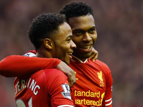 Daniel Sturridge and Raheem Sterling left less than impressed with racy photo of Liverpool's 'prospective new owner' Rihanna