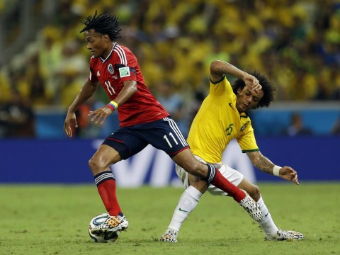 Manchester United target Juan Cuadrado signs Barcelona shirt amid links with Nou Camp move