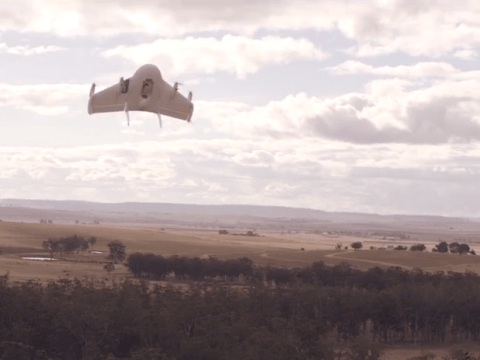 Google's new drone delivers chocolate bars and dog treats to Australian outback in new video