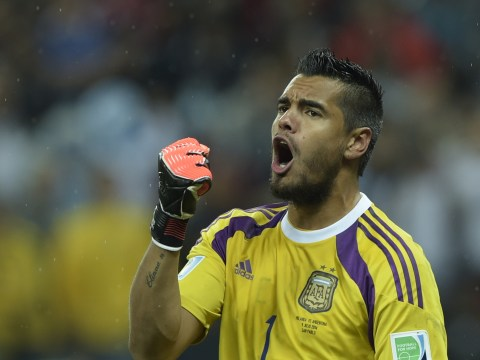 Liverpool open transfer talks with Sampdoria over World Cup star Sergio Romero